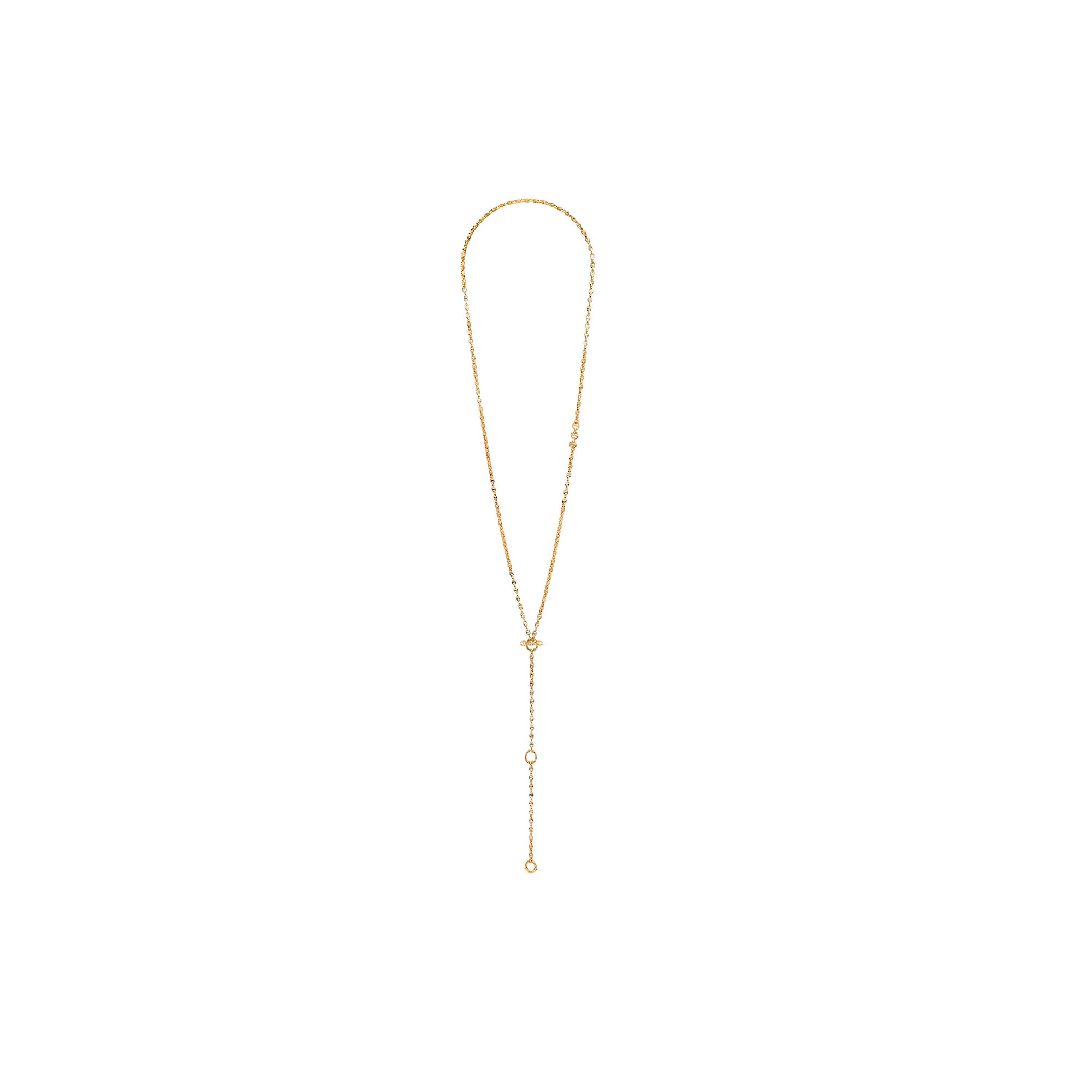 28inchi 3MM OPEN-LINK NECKLACE